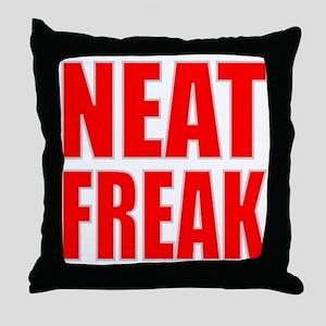 NEAT FREAK Throw Pillow