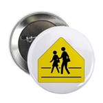 School Crossing Sign - Button