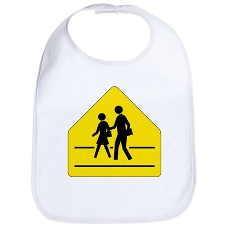 School Crossing Sign - Bib