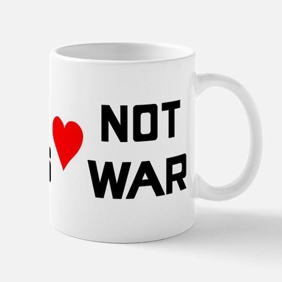 Make Leeves Not War Mug