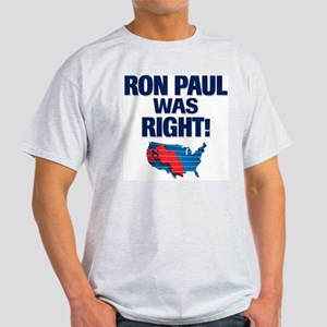 Ron Paul was Right Light T-Shirt
