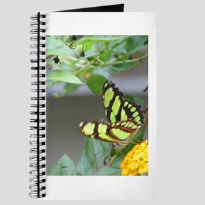 Yellowish Green Butterfly Journal