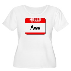 Hello my name is Ann T-Shirt