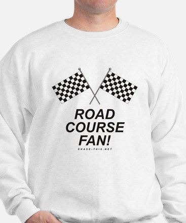 Checker Flag Road Sweatshirt