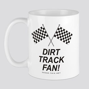 Checker Flag Dirt Mug (right side)