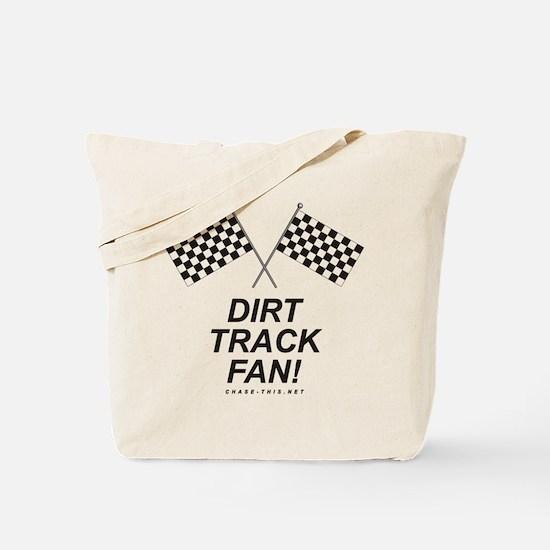 Checker Flag Dirt Tote Bag