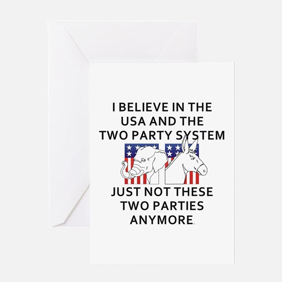 New Politics Greeting Card
