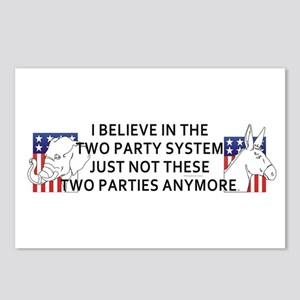 New Politics Postcards (Package of 8)