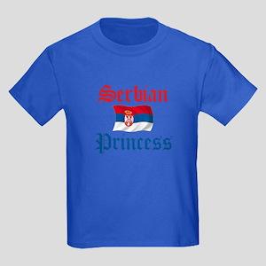Serbian Princess Kids Dark T-Shirt