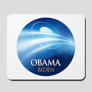 Obama-Biden Blue Light Mousepad