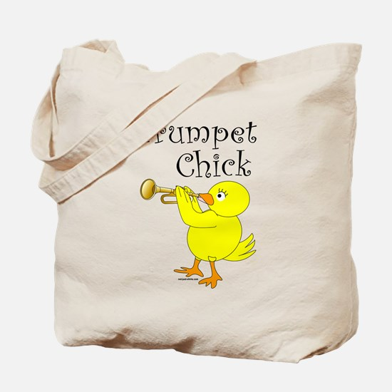 Trumpet Chick Tote Bag