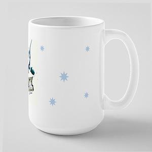 Marlin Snowboarding Large Mug