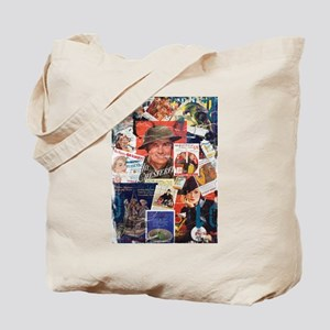 Destroyed Vintage Cigarette Advertising Tote Bag