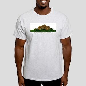 Rock Climbing Ash Grey T-Shirt