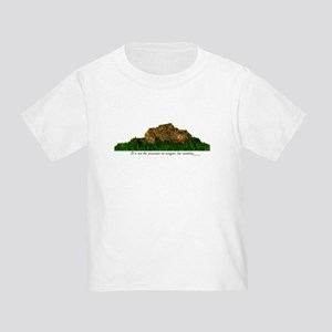 Rock Climbing Toddler T-Shirt