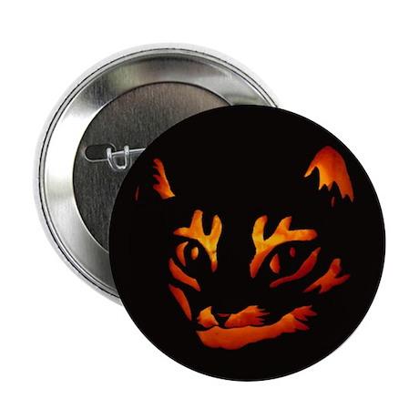 Halloween Cat Button