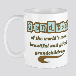 Grandpapa of Gifted Grandchildren Mug