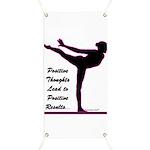 Gymnastics Banner - Positive