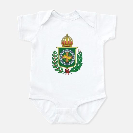 Brazil Empire Coat of Arms Infant Bodysuit