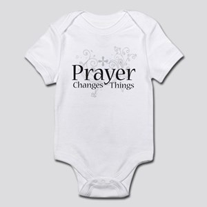 Prayer Changes Things Infant Bodysuit