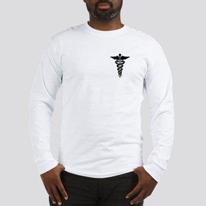 Medical Symbol Caduceus Long Sleeve T-Shirt