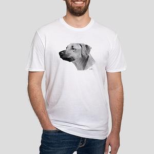 Rhodesian Ridgeback Drawing Fitted T-Shirt