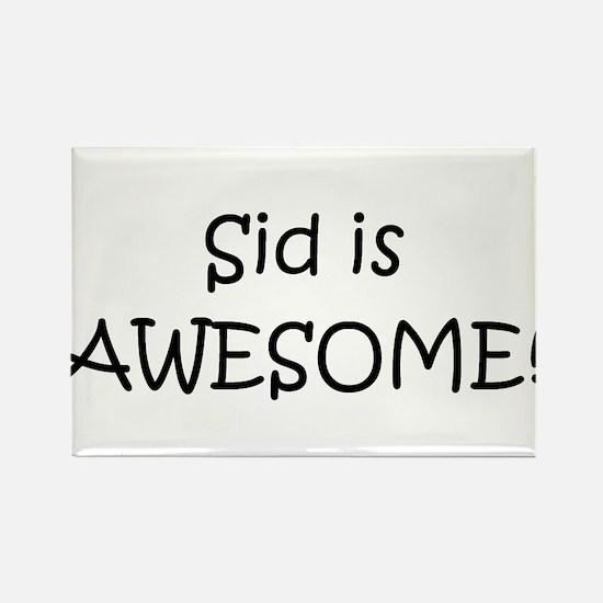 Cute Sid Rectangle Magnet