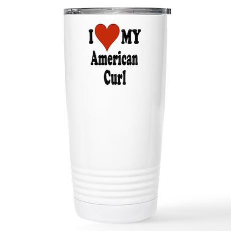 American Curl Stainless Steel Travel Mug