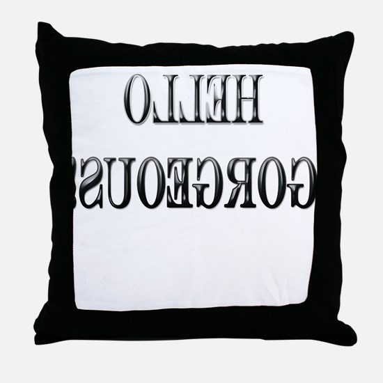 Backwards Throw Pillow