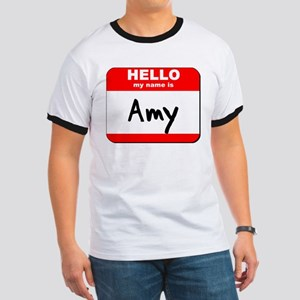 Hello my name is Amy Ringer T