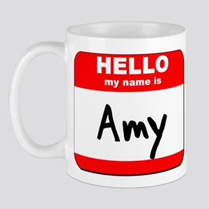 Hello my name is Amy Mug