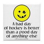 A bad day of hockey... Tile Coaster