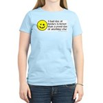 A bad day of hockey... Women's Pink T-Shirt