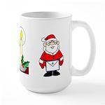 Masonic Christmas Carols Large Mug