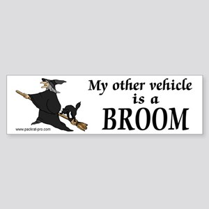 Other vehicle Broom Bumper Sticker