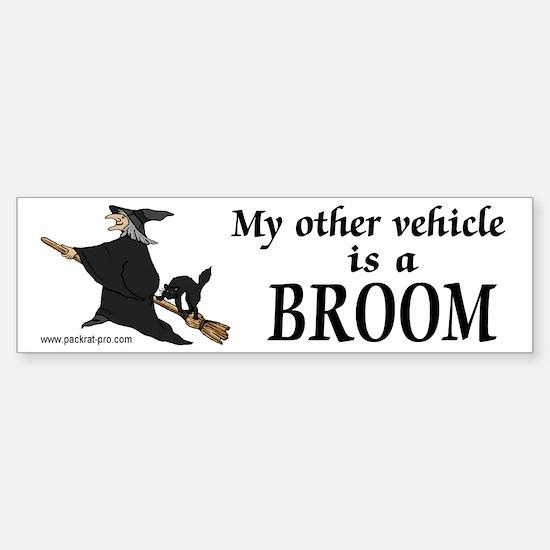 Other vehicle Broom Bumper Bumper Bumper Sticker