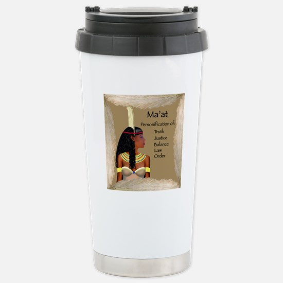 Ma'at Stainless Steel Travel Mug