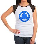 Roundabout Women's Cap Sleeve T-Shirt