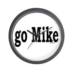 go Mike Wall Clock