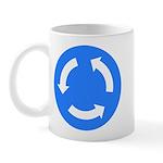 Traffic Circle Sign - Mug