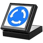 Traffic Circle Sign - Keepsake Box