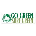 Green Surfers Bumper Sticker (50 pk)