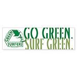 Green Surfers Bumper Sticker (10 pk)