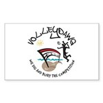 Volleydawg Rectangle Sticker 50 pk)