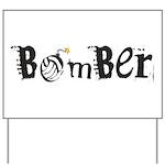 Bomber Yard Sign
