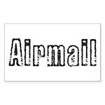 Airmail Sticker (Rectangle 10 pk)
