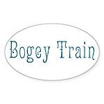 Bogey Train Sticker (Oval 50 pk)