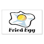 Fried Egg Sticker (Rectangle 10 pk)