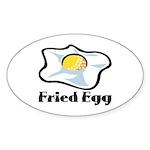 Fried Egg Sticker (Oval 50 pk)