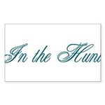 In the Hunt Sticker (Rectangle 50 pk)